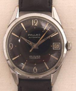 【送料無料】腕時計 ウォッチ パラスヴィンテージpallas automatik reloj hombre reloj de pulsera vintage 60 aos l
