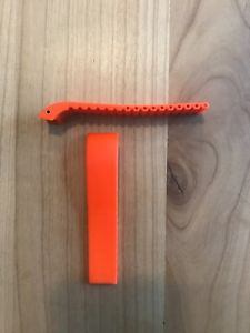 【送料無料】腕時計 ウォッチ フォルティスシリコンオレンジゴムブレスレットモデルfortis original pulsera siliconacaucho en orange para modelos b47