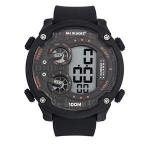 【送料無料】腕時計 ウォッチ デジタルシリコーンブラックベルト