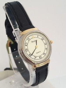 【送料無料】腕時計 ウォッチ オリジナルクロックビンテージレザーbulova orologio 1a17l watch damenuhr reloj vintage original leather bu204  it