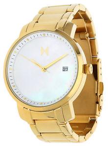 【送料無料】腕時計 ウォッチ レディアラームゴールドブレスレットシグネチャmvmt seora reloj pulsera de oro signature mf01g
