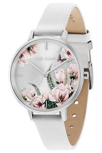 【送料無料】腕時計 ウォッチ ジュリーロマンスjulie julsen seora reloj pulsera romance silver white jjw30sl9