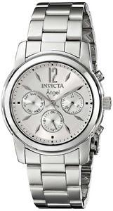【送料無料】腕時計 ウォッチ クロノグラフmステンレススチールクオーツinvicta mujer ngel crongrafo 50m cuarzo reloj acero inoxidable 0461