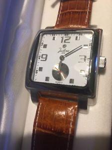 腕時計 ウォッチ アラームクオーツウォッチwatch men reloj quartz justina