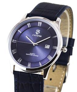 【送料無料】腕時計 ウォッチ ユーコンクラシックシリーズアラームローマエリアcavadini serie yukon clsica reloj hombre, esfera gular romana