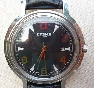 【送料無料】腕時計 ウォッチ テンポorologio russo vremiatempo meccanico  funzionante