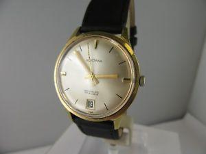 【送料無料】腕時計 ウォッチ ビンテージe401 vintage bergana con fecha en la 6 buen estado