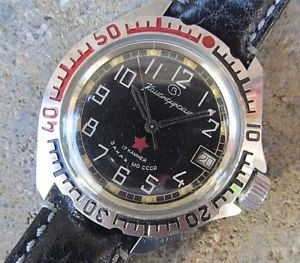 【送料無料】腕時計 ウォッチ ソヴォストークorologio militare sovietico russo vostok komandirskiye meccanico funzionante