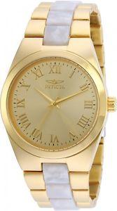 【送料無料】腕時計 ウォッチ トーンアラームステンレスinvicta mujer ngel cuarzo 100m dos tonos reloj acero inoxidable 20481