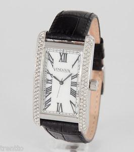 【送料無料】腕時計 ウォッチ アラームスワロフスキーレディーススチールパールウォッチreloj vendoux mujer swarovski acero cuero ls50105 womens mother pearl watch