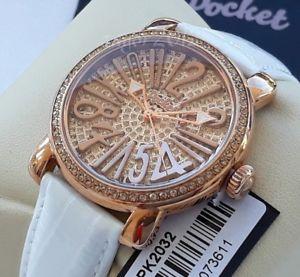 【送料無料】腕時計 ウォッチ イギリスポケットスワロフスキーレディース