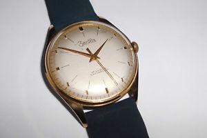 【送料無料】腕時計 ウォッチ ワークエルドラドビンテージアラームvieja hermosas seores zentra funcionan dorado 34mm 60er vintage reloj