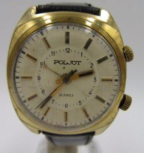 【送料無料】腕時計 ウォッチ ビンテージクロックワークl208 vintage poljot despertador funcionanreloj de pulsera caballero