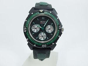 【送料無料】腕時計 ウォッチ エクスパンダセクターネロorologio multifunzione sector expander 101 acciaio quarzo nero verde uomo 144