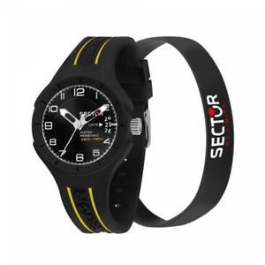 【送料無料】腕時計 ウォッチ アラームセクターブレスレットスピードブラックシリコンサブメートルreloj pulsera sector speed r3251514009 silicona negro sub 100mt