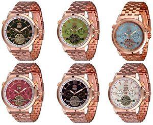 【送料無料】腕時計 ウォッチ リンドバーグピンククロックゴールデンlindberg amp; sons reloj automtico pirus en dorado rosa color con cuerda manual