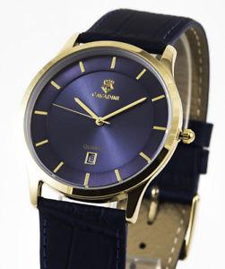 【送料無料】腕時計 ウォッチ ユーコンejecutiva cavadiniserie yukon puro lujo reloj para hombre rmish cifra azul