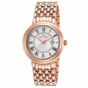 腕時計 ウォッチ ローズゴールドステンレススチールreloj de cuarzo lucien piccard para mujeres rosa oro acero inoxidable lp16539rg22s