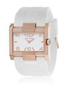 【送料無料】腕時計 ウォッチ アラームreloj time force tf4033l11 blanco mujer pvp144