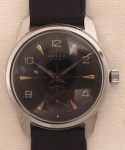 【送料無料】腕時計 ウォッチ ヴィンテージクロックarlea reloj de hombre reloj pulsera con as 1130 vintage 60 aos