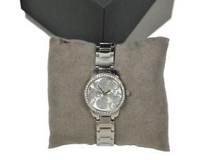 【送料無料】腕時計 ウォッチ ステンレススチールストラップグレタアンプガラスguess para mujer reloj con correa de acero inoxidable de greta amp; envolvente de cristal w0891l1