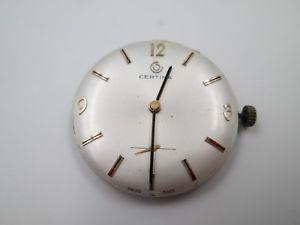 【送料無料】腕時計 ウォッチ マシンフィールドブランドマニュアルmquina y esfera reloj pulsera certina aos 60 17 gemas calibre manual 2810
