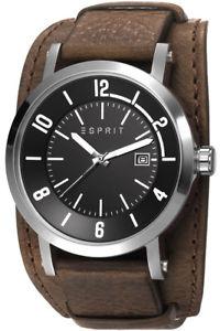 【送料無料】腕時計 ウォッチ アラームクロックエスプリesprit reloj hombres reloj de hombres es108031003 cuero