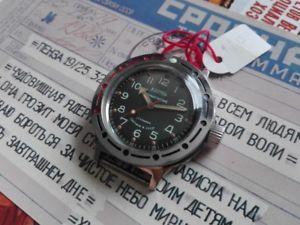【送料無料】腕時計 ウォッチ ロシアヴォストーククロックロシアソヴォストークウォッチreloj ruso vostok  russian vostok amphibia watch soviet