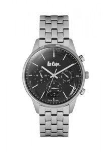 【送料無料】腕時計 ウォッチ アラームナイツシルバーブラックモダンハンドルleecooper reloj lc06505350 caballeros reloj de pulsera plata negro modern multifuncin