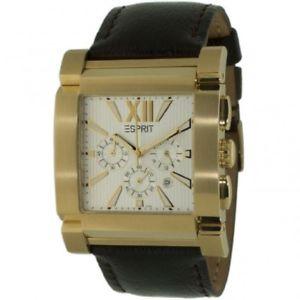 【送料無料】腕時計 ウォッチ アラームゴールドレディースクロノグラフesprit reloj galaxy es101011005 oro seores angulares reloj pulsera chronograph