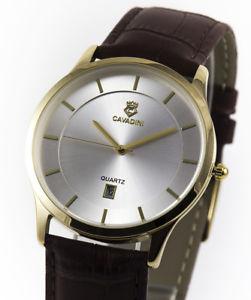 【送料無料】腕時計 ウォッチ ユーコンインデックスejecutiva cavadiniserie yukon puro lujo reloj para hombre ndices cifra dorado