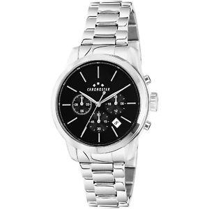 【送料無料】腕時計 ウォッチ ウォッチorologio chronostar urano uomo r3753270001 watch acciaio multifunzione nero