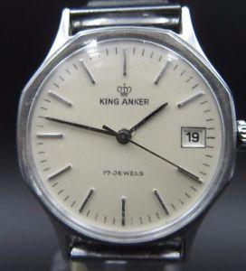 腕時計 ウォッチ ビンテージキングアンカーl795 vintage king anker cuerda manual reloj de pulsera
