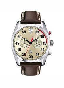 【送料無料】腕時計 ウォッチ アラームベルトスクーデリアフェラーリscuderia ferrari para hombres d50 reloj correa marrn 620