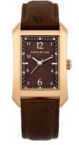 【送料無料】腕時計 ウォッチ クロックカレンモデルキロnuevo reloj karen millen en caja, modelokm104tg