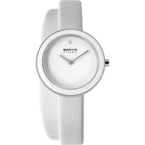 【送料無料】腕時計 ウォッチ ベーリングレディクロックブレスレットレザースリムセラミックbering seora reloj reloj pulsera slim ceramic 33128854 cuero