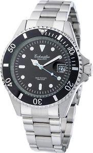 【送料無料】腕時計 ウォッチ メルセデスガラスアラームポインタeichmller automatik 21 jewels mercedespuntero fecha con lupa reloj hombre 341201