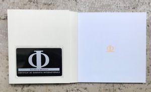 【送料無料】腕時計 ウォッチ ボーメメルシエカードブランクブックレットセットbaume amp; mercier warranty card blank and manual booklet full set nos