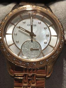【送料無料】腕時計 ウォッチ ホイットニーピンクゴールドアラームguess mujer whitney w0931l3 enchapado en oro rosa reloj