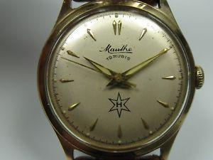 【送料無料】腕時計 ウォッチ ライムワークmauthe cal 610 hermosas 50er aos seores funcionan reloj de pulsera