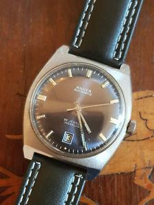 【送料無料】腕時計 ウォッチ ビンテージanker automaticuhr herrenuhr kaliber eta 2782 vintage