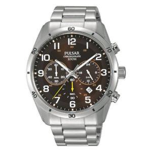 【送料無料】腕時計 ウォッチ アラームクロノグラフナイト×nuevo pulsar de caballero reloj crongrafo pt3843x1