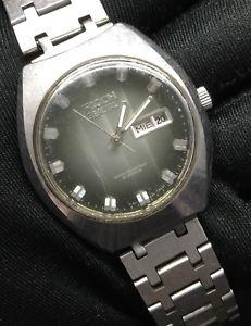 【送料無料】腕時計 ウォッチ リコーヴィンテージアラームricoh spacial vintage watch no funciona automatic reloj 36,7mm