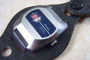 【送料無料】腕時計 ウォッチ デジタルウォッチun viento manual ross anidigital reloj c temprano dcada de 1970