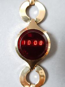 【送料無料】腕時計 ウォッチ テキサスインスツルメンツビンテージレディースアラームvintage texas instruments 70s 70er damas seora led watch reloj