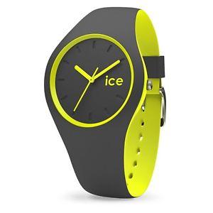 【送料無料】腕時計 ウォッチ デュオicewatch ice duo 001486 duoaywss16 anthracite yellow