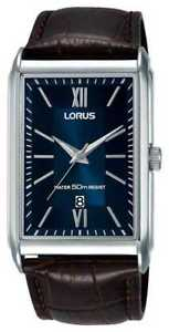 【送料無料】腕時計 ウォッチ ストラップjxlorus reloj rectangular para hombre correa de cuero rh911jx9 relojes