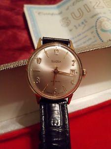 【送料無料】腕時計 ウォッチ ビンテージプラークsuizex montre mecanique incabloc vintage 1976 plaque g
