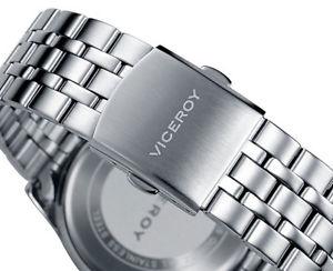 腕時計 ウォッチ ヴィセロイステンレスマルチファンクションviceroy 4052155 coleccin heat multifuncin de caballero en acero