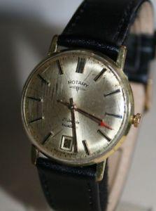 【送料無料】腕時計 ウォッチ ロータリーnuevo anunciovintage rotary 21 joyas reloj de edicin limitada de caballero a mano con fecha